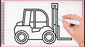 How To Draw Forklift Easy Learn Drawing Construction Trucks Very ... Pallet Jack Electric Jacks Raymond Truck Lifted Ford Drawings The Gallery For Dodge Drawing Chevy Best Vector Photos Free Art Images Blueprints 1981 Pickup Drawings Car And Are A How To Draw Youtube Shopatcloth Trucks Problems Solutions Auto Attitude Nj Gta 5 Location Accsories New Upcoming Cars 2019 20 Outline Wiring Diagrams