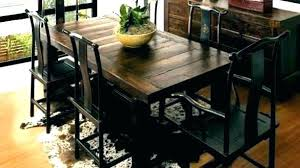 Extra Long Dining Room Table Sets Rustic With Bench