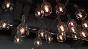 las vegas casino bulbs stock footage 3873320