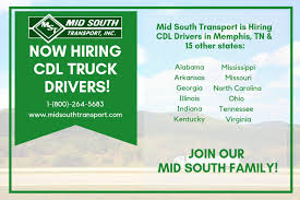 100 Trucking Jobs In Alabama Memphis Driving Become A Truck Driver With MST Today