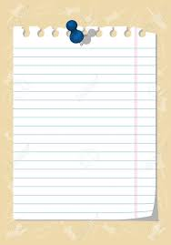 Torn Notebook Paper Clipart ClipartXtras