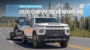 100 Chevy 2500 Truck 2020 Chevrolet Silverado HD First Drive Punishing