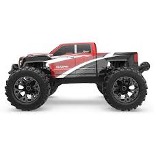 100 Red Monster Truck Cat Racing DUKONO 110 Scale Electric
