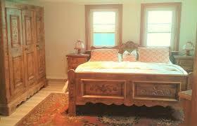schlafzimmer voglauer bett bauernbett massivholz massiv holz