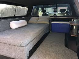 I Love The Overall Design Here Where There Is The Bed/couch That Is ... Z Series Truck Cap Are Caps And Tonneau Covers Youtube Cheap Bed Matbig Dog Beds Restate Co And Commercial World Leer Fiberglass Bikes In Truck Bed With Topper Mtbrcom Toppers Suv Tent Rightline Gear Fladvvede Tpper Free With Top 2017 Super Duty Ford Enthusiasts Forums Camping Toppers Camping Gypsy Preindustrial Craftsmanship 6 Modding Mistakes Owners Make On Their Dailydriven Pickup Trucks Ladder Racks For Home Depot Rack