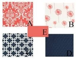 coral damask bedding hollywood thing