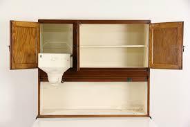 What Is A Hoosier Cabinet by Sold Hoosier 1915 Antique Oak Roll Top Kitchen Cabinet