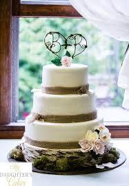Way Cute Rustic Wedding Cake
