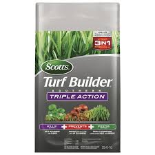 Scotts Turf Builder Triple Action 29-0-10 Weed Control Plus ...