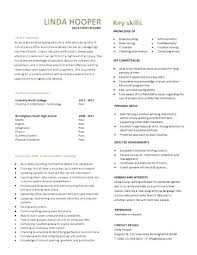Resume For Information Technology Student Examples No Experience