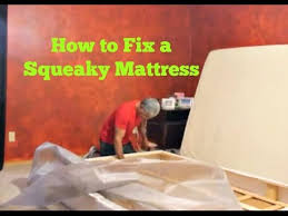 how to fix a squeaky loud and annoying mattress set youtube