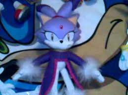 blaze the cat plush my handmade sonic blaze the cat plush