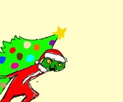 The Grinch Steals A Christmas Tree