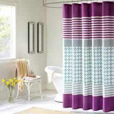 Dark Purple Ruffle Curtains by Buy Purple Shower Curtains From Bed Bath U0026 Beyond
