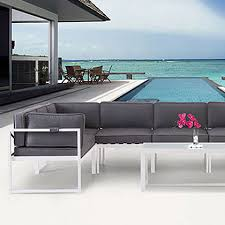 Modern Outdoor Chairs Chaises Ottomans