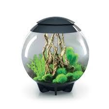 aquarium biorb halo 15 litres gris mcr biorb animalerie truffaut
