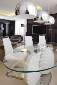 Modern Luxury Round Dining Room Tables