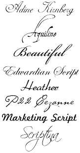 Cursive Letters Font Best Tattoo Fonts Ias On Polices Insi Letter