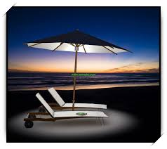 100 solar 9 lighted patio umbrella fiberbuilt umbrellas 9