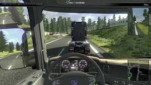 Scania Truck Driving Simulation Per Mac: In Game Video - YouTube