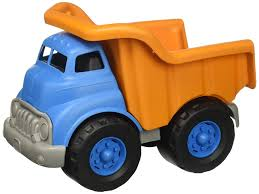 100 Big Toy Dump Truck Amazoncom Green S Vehicle OrangeBlue 10 X 75