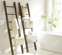 Lucas Reclaimed Wood Bath Ladder Storage