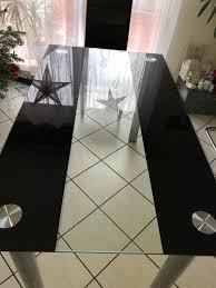 glastisch esszimmer