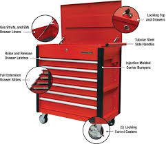 OEM Automotive Tools Six-drawer Tool Service Cart, No. 24968 In Tool ...