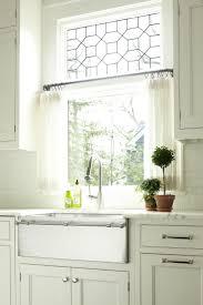 Kitchen Curtain Ideas Pictures by Kitchen 78 Best Ideas About Kitchen Window Curtains On Pinterest