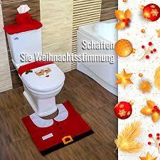 weihnachtsmann weihnachtsdeko für badezimmer