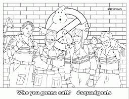 Ghostbusters Coloring Pages 2