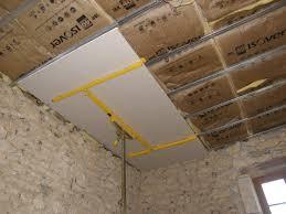 pose rail placo plafond faux plafond placo sur rail stunning lame with faux plafond placo