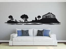griechenland athen landschaft skyline wohnzimmer deko