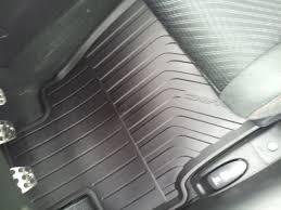 weathertech or oem all weather floor mats