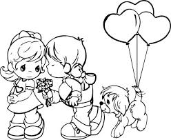 Bible Coloring Pages Love Your Neighbor Free Precious Moments Enemies One Another