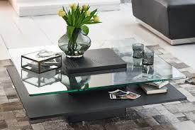 couchtisch schwarz glas quadratisch porto wohnzimmertisch