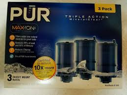 Pur Faucet Mount Refills by Pur Water Filter Review Faucets Best Water How To Pur Nsf 53
