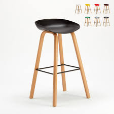 barhocker barstuhl für esszimmer küche cafe holzeffekt towerwoodfarbe schwarz einheit 1 stück höhe cm 75 breite cm 43 tiefe cm 42