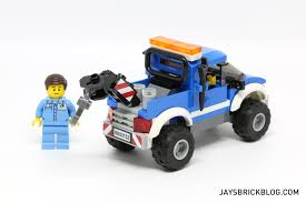 100 Lego City Tow Truck Review LEGO 60132 Service Station Jays Brick Blog