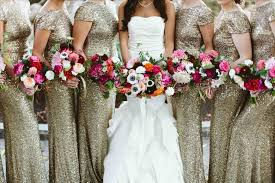 Wedding Party Attire Ideas Way To Do Rainbow Bridesmaids Dresses Without Going Elegant Gray Taupe Jackie