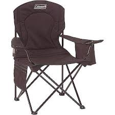 Camping Chair With Footrest Walmart by Coleman Oversized Quad Chair With Cooler Pouch Walmart Com