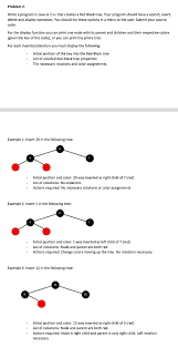 Write A Program In Java Or C That Creates Red Black Tree