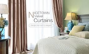 Amazon Velvet Curtain Panels by Amazon Com Room Darkening Velvet Curtain Panels Classic Velvet