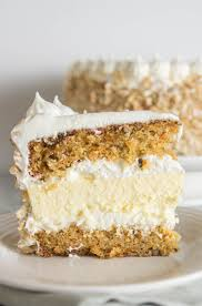 Carrot Cake Cheesecake Cake The Itsy Bitsy Kitchen