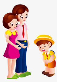 Say goodbye to parents Say Goodbye Child Parents Free PNG and Vector