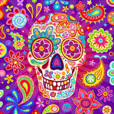 Easy Sugar Skull Day Of by Day Of The Dead Art A Gallery Of Colorful Skull Art Celebrating