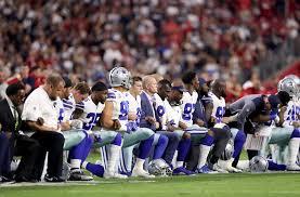 Entire Dallas Cowboys team kneeled prior to Monday Night Football
