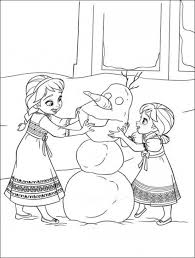 Coloring Page Disney Frozen Printable Pages At Free For Kids