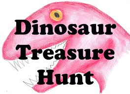 Printable Halloween Scavenger Hunt Clues by Dinosaur Hunt Kids Scavenger Hunt Dino Search Game