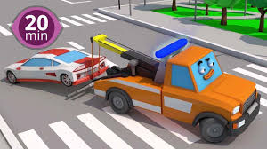 Free 20 Minute Non-Stop 3D Car Cartoon For Kids: Watch Online